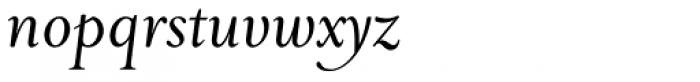 Priori Serif Italic Font LOWERCASE