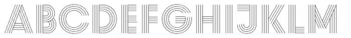 Prism UltraLight Font UPPERCASE