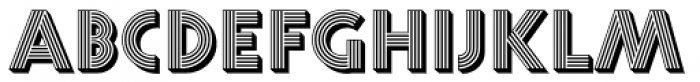 Prisma Pro Shadow Font LOWERCASE