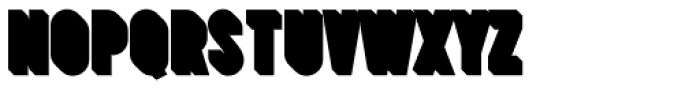 Prismatic 1 Drop Shadow Font LOWERCASE