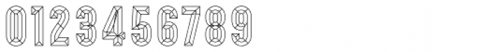 Prismatic 10 Bevel Font OTHER CHARS