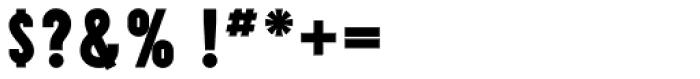Prismatic 3 Base Outline Font OTHER CHARS