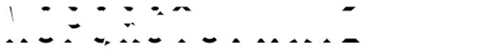 Prismatic 5 Bottom Font LOWERCASE