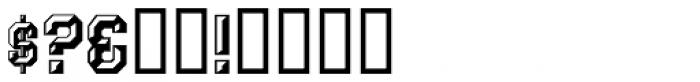 Prismatiq JNL Font OTHER CHARS