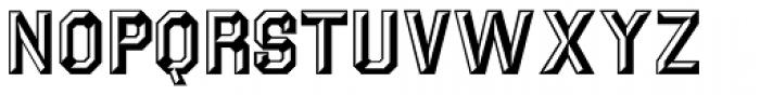 Prismatiq JNL Font UPPERCASE