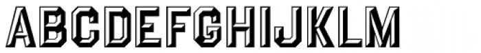 Prismatiq JNL Font LOWERCASE