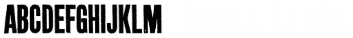 Prison AOE Unicase Font UPPERCASE