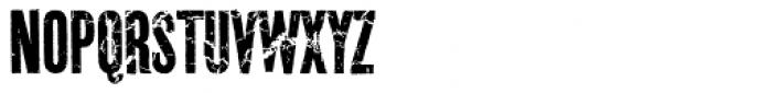 Prison Break AOE Unicase Font UPPERCASE