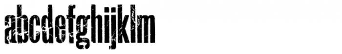 Prison Break AOE Unicase Font LOWERCASE