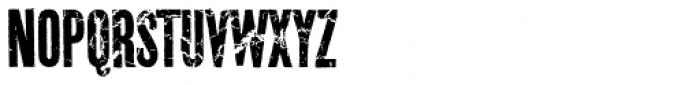 Prison Break Pro AOE Font UPPERCASE