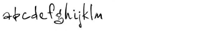 Prissa Font LOWERCASE