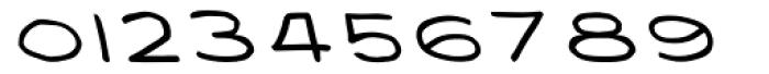 Privé Backslant Font OTHER CHARS