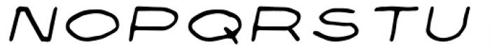 Privé Italic Font UPPERCASE