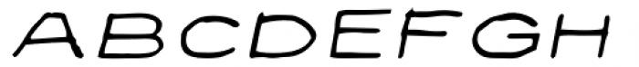 Privé Italic Font LOWERCASE