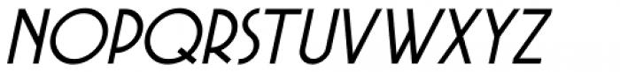 Private Eye JNL Oblique Font LOWERCASE
