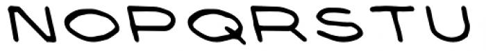 Prive Bold Backslant Font LOWERCASE