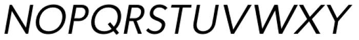 Proba Pro Italic Font UPPERCASE