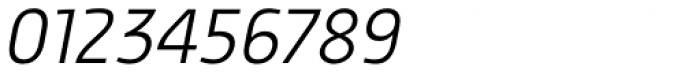 Proband Special Light Italic Font OTHER CHARS