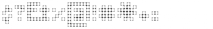 Processual Ball Light Font OTHER CHARS