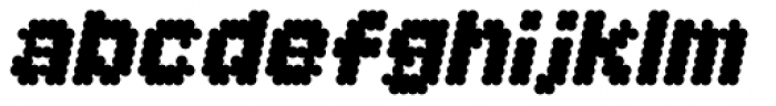 Procyon Fat Italic Font LOWERCASE