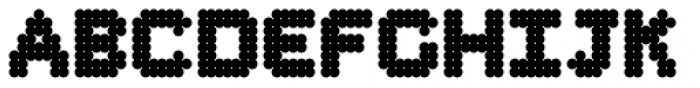 Procyon Fat Font UPPERCASE