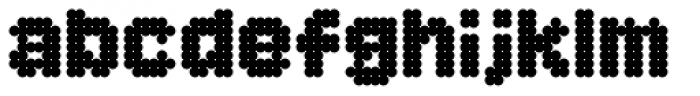 Procyon Fat Font LOWERCASE