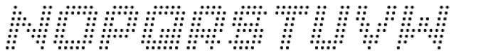 Procyon Italic Font UPPERCASE