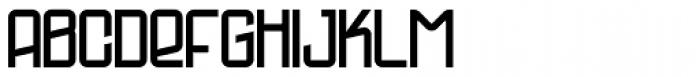 Profihouse Font UPPERCASE