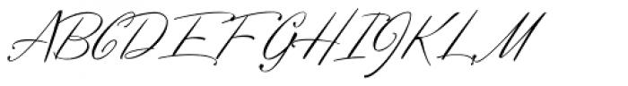 Profiterole Font UPPERCASE