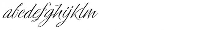 Profiterole Font LOWERCASE