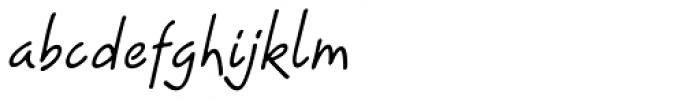 Progeny Font LOWERCASE