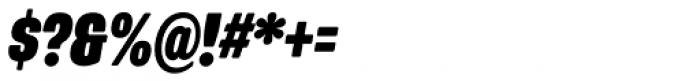 Program Narrow OT Black Italic Font OTHER CHARS