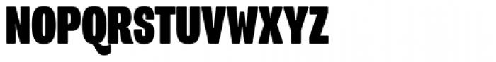 Program Narrow OT Black Font UPPERCASE