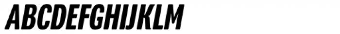 Program Narrow OT Medium Italic Font UPPERCASE