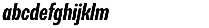 Program Narrow OT Medium Italic Font LOWERCASE