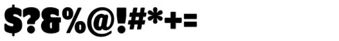 Program OT Black Font OTHER CHARS