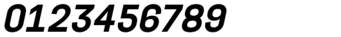 Project Sans Semi Bold Italic Font OTHER CHARS
