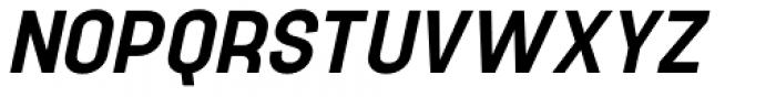 Project Sans Semi Bold Italic Font UPPERCASE
