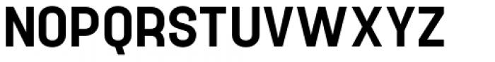 Project Sans Semi Bold Font UPPERCASE