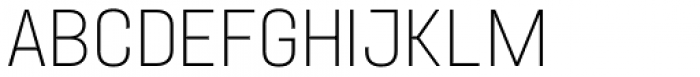 Project Sans Ultra Light Font UPPERCASE