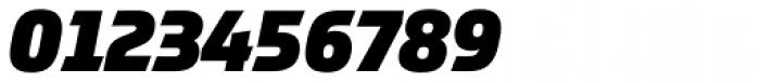 Prometo Black Italic Font OTHER CHARS