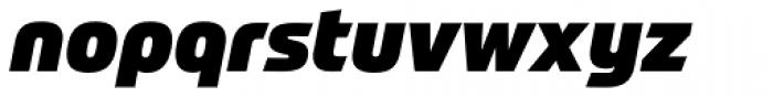 Prometo Black Italic Font LOWERCASE