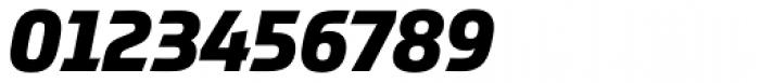 Prometo ExtraBold Italic Font OTHER CHARS