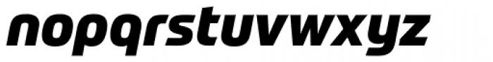 Prometo ExtraBold Italic Font LOWERCASE