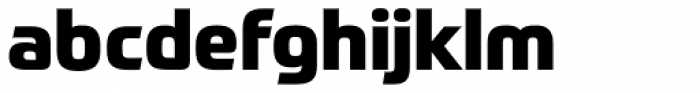 Prometo ExtraBold Font LOWERCASE
