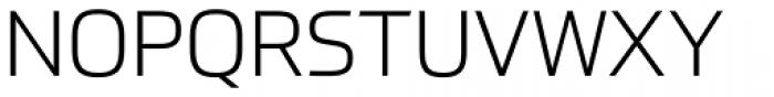 Prometo Light Font UPPERCASE