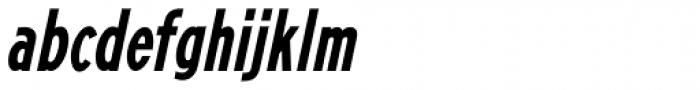 Promotional Copy Oblique JNL Font LOWERCASE