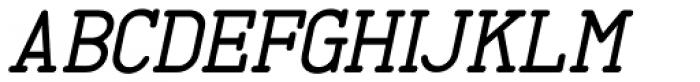 Proofreader Oblique JNL Font UPPERCASE