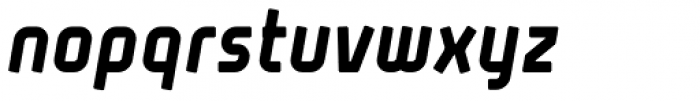 Propane Bold Italic Font LOWERCASE