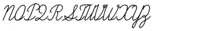 Propisi Light Font UPPERCASE